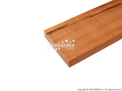 Deska tarasowa Tigerwood 21x100 [mm] - dł. 2,14 m (dwustronnie gładka)
