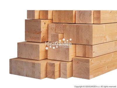 Drewno klejone BSH 120x120 [mm] - dł. 5,0 m