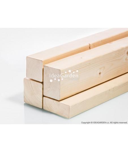 Drewno klejone lite KVH...