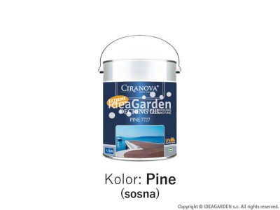 Olej do tarasów - Ciranova Decking Oil Pine - 2,5L