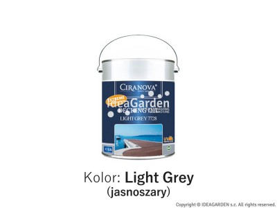Ciranova Decking Oil Light Gray - 2,5L