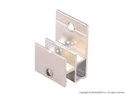 Klip montażowy (aluminium) AW08