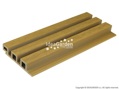 Deska elewacyjna ULTRASHIELD UH46 25x121,5[mm] (Oak) - dł. 2,8 m