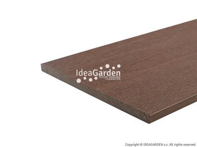 Deska cokołowa Fascia US03 15x180 [mm] (Ipe) - dł. 2,8 m