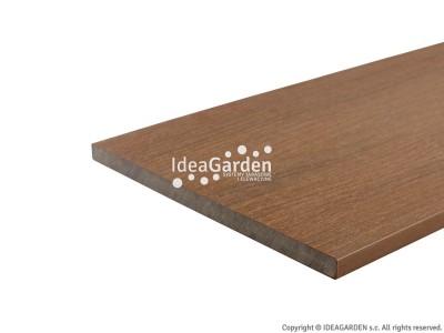 Deska cokołowa Fascia US03 15x180 [mm] (Teak) - dł. 2,8 m
