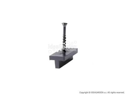 Klip montażowy (polimerowy) z wkrętem TC-2 (CEC) - szczelina 5,5 mm
